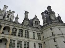CHAMBORD: fasada właściwego pałacu / facade of the palace