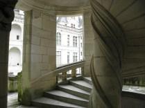 CHAMBORD: boczna klatka schodowa / side staircase