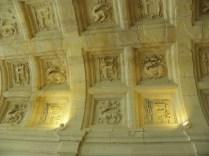 CHAMBORD: detale sklepień / vault in the chateau