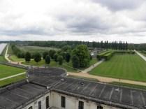 CHAMBORD: widok z tarasów / view from terraces