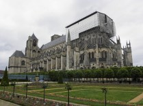 Prezbiterium katedry w Bourges