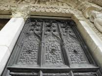 Drzwi portyku północnego