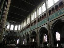 CHARTRES: WNĘTRZE KOŚCIOŁA ST-AIGNAN / INSIDE ST-AIGNAN'S CHURCH