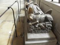 ROUEN: NAGROBEK RYSZARDA LWIE SERCE / TOMB OF RICHARD THE LIONHEART