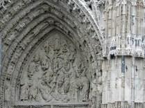 ROUEN: PORTAL ŚRODKOWY - DRZEWO JESSEGO / CENTRAL PORTAL - TREE OF JESSE