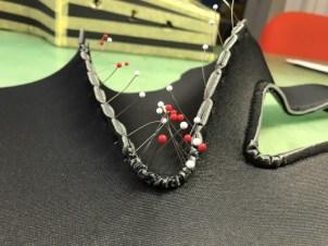 リアパネル縫製