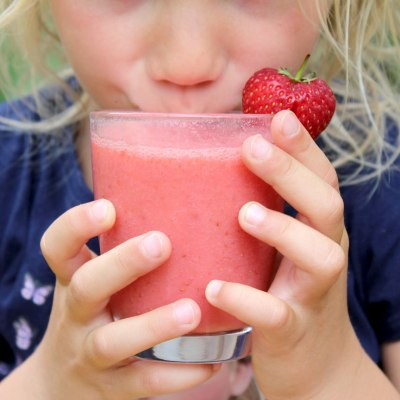 Erdbeershake für Kids