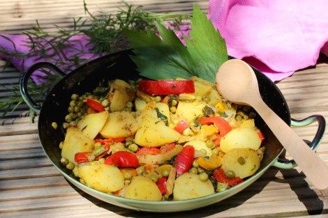 Kartoffel-Gemüsepfanne