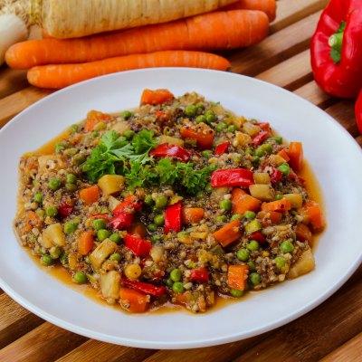 Gemüse – Quinoa Tricolore