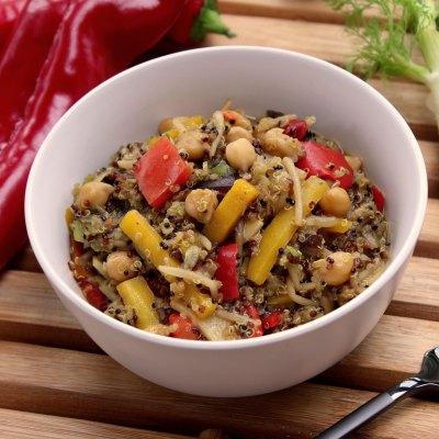 Quinoa Gemüsepfanne