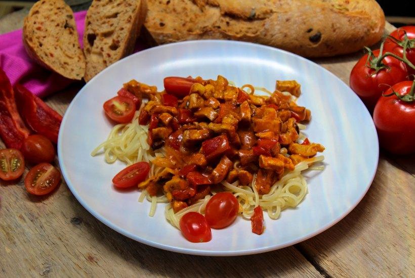 Tomatengeschnetzeltes