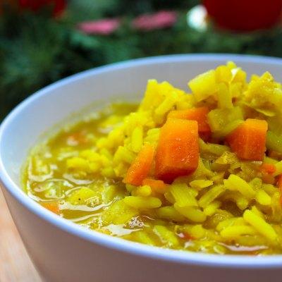 Reis-Gemüse Eintopf