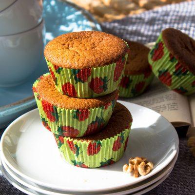 Vegane Walnuss Muffins