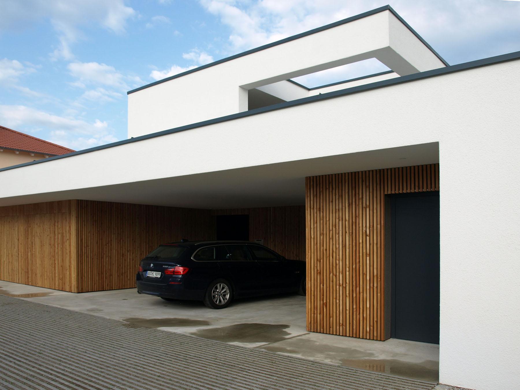 Einfamilienhaus Burghausen Balkonterrasse