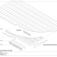 Exploded Axon Diagram Iphone 4 Parts Cork Shell Pavilion Filipe Js Brandão