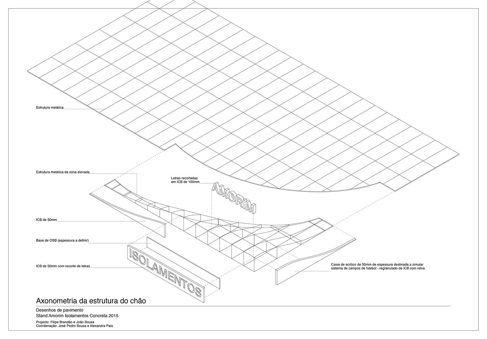 exploded axon diagram 1998 ford mustang ac wiring cork shell pavilion filipe js brandão