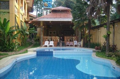 Zwembad Hotel B01 - Coron, Palawan, Filipijnen