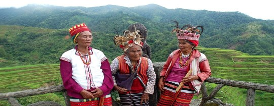 Ifugao inheemse bevolking - Banaue, Luzon, Filipijnen