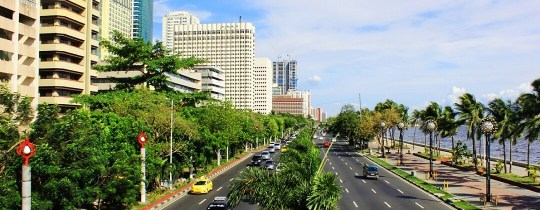 Roxas Boulevard - Manilla, Luzon, Filipijnen