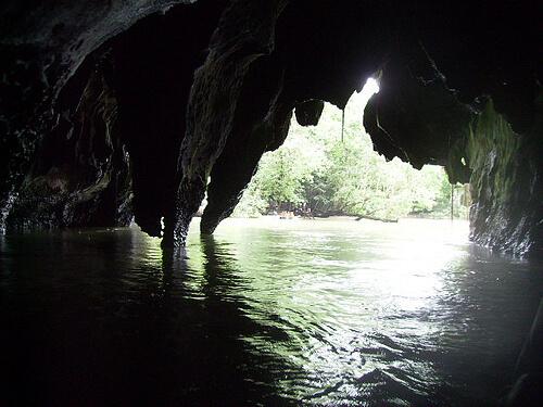Uitgang Ondergrondse Rivier - Puerto Princesa, Palawan, Filipijnen
