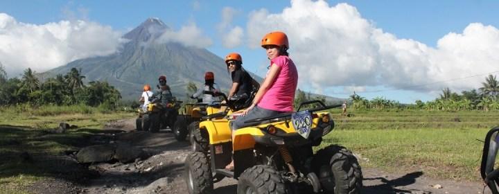 ATV tour naar de Mayon Vulkaan