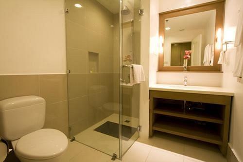 Badkamer Hotel L01 - Legazpi, Albay, Luzon, Filipijnen