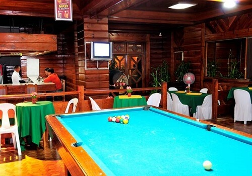 Biljarttafel Hotel B01 Banaue - Ifugao, Luzon, Filipijnen