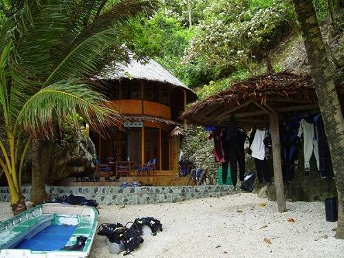 Duikcentrum Resort B01 - Apo Island, Negros Oriental, Central Visayas, Filipijnen
