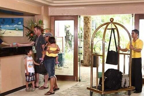 Receptie Hotel M01 - Boracay, Western Visayas, Filipijnen