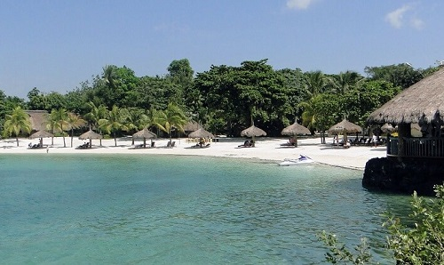 Strand - Resort L11, Mactan Island, Filipijnen