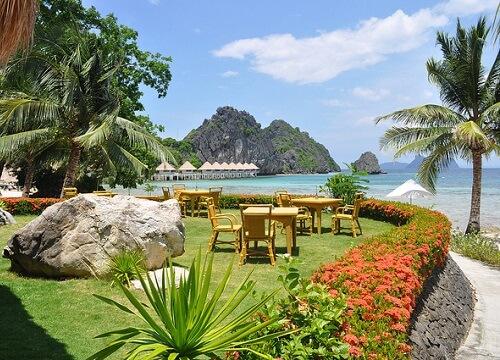 Tuin & Restaurant Resort L11 - Taytay, Palawan, Filipijnen