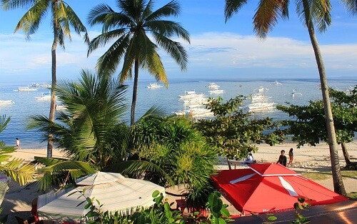 Uitzicht Sun View Room Resort M01 - Bohol, Central Visayas, Filipijnen