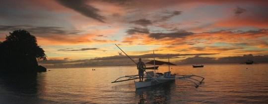 Zonsopgang Bohol, Central Visayas, Filipijnen