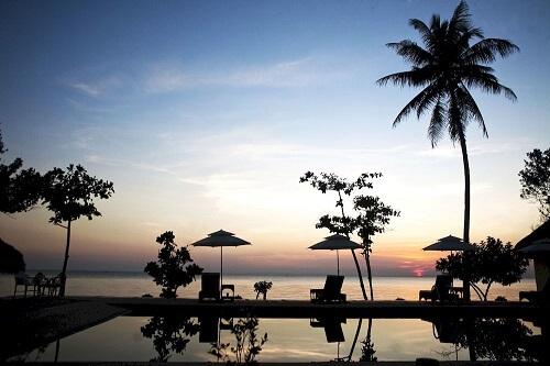 Zwembad Resort M01 - Donsol, Sorsogon, Luzon, Filipijnen
