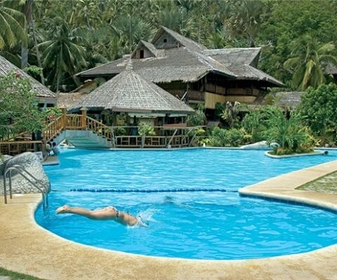 Zwembad Resort M01 - Puerto Galera, Mindoro, Luzon, Filipijnen
