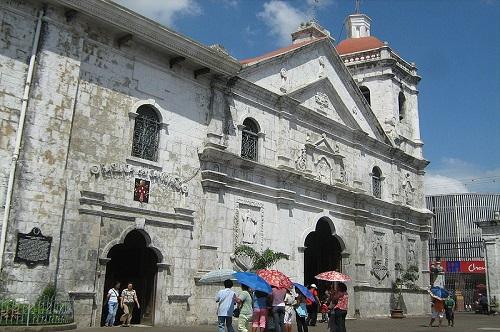 Basilica Minore del Santo Niño, een 16e eeuwse kerk in Cebu City, Central Visayas, Filipijnen