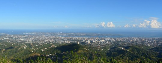Uitzichtpunt - Cebu City, Central Visayas, Filipijnen