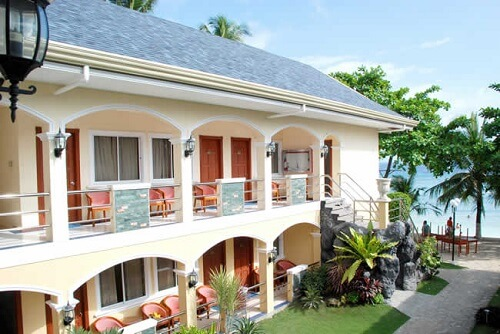 Gebouw strandzijde Resort M02 - Bohol, Central Visayas, Filipijnen