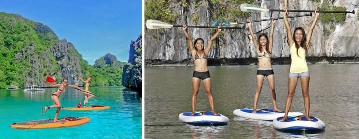 SUP tour El Nido - Palawan, Filipijnen