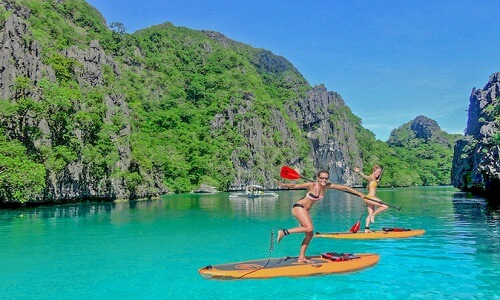 Sup tour - El Nido, Palawan, Filipijnen