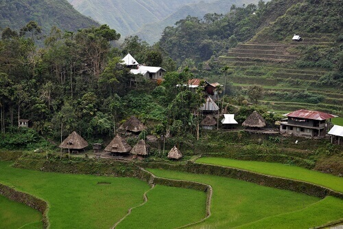 Batad Village - Luzon, Filipijnen