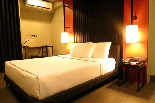 Deluxe 1 Queen Room hotel M03 - Manilla, Filipijnen