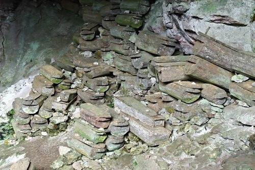 Lumiang Burial Cave - Sagada, Luzon, Filipijnen