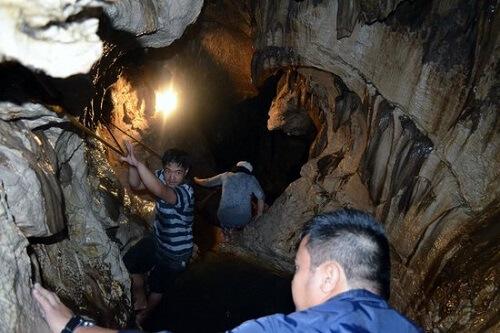 Sumaguing Cave - Sagada, Luzon, Filipijnen