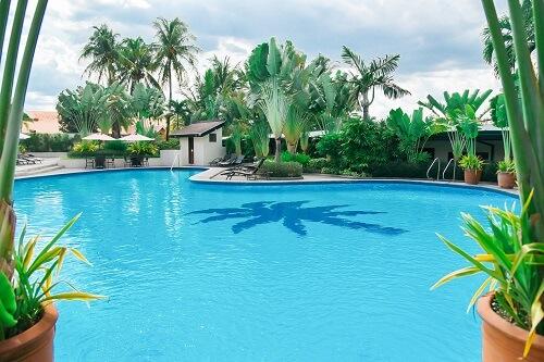 Zwembad hotel M01 - Angeles City, Luzon, Filipijnen