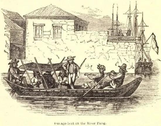 Paul de la Gironiere Pasig River