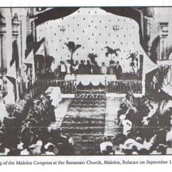 Ano Ang Venn Diagram Tagalog Pig External Anatomy Philippine History The Malolos Congress In Morning Of September 15