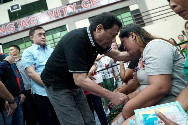 P Duterte vows permanent housing for Cebu landslide victims