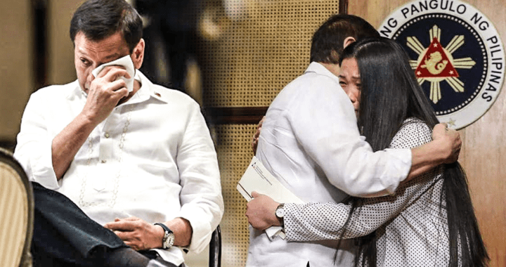 Pres Duterte embraces Jennifer Dalquez, OFW saved from death row in UAE