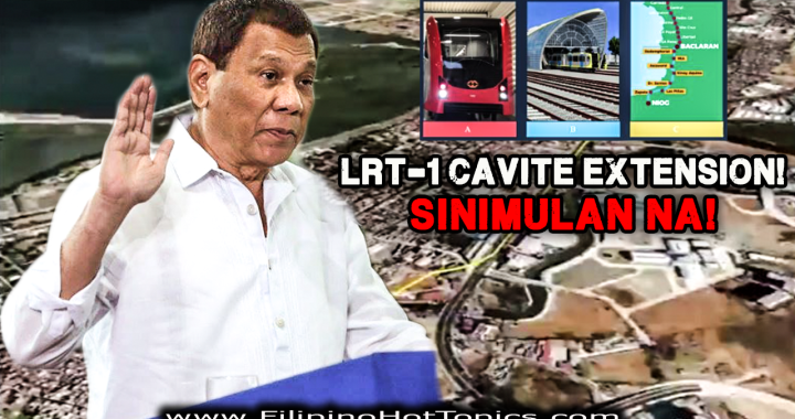 Good news! LRT-1 Cavite Extension project sinimulan na ng Duterte Administration